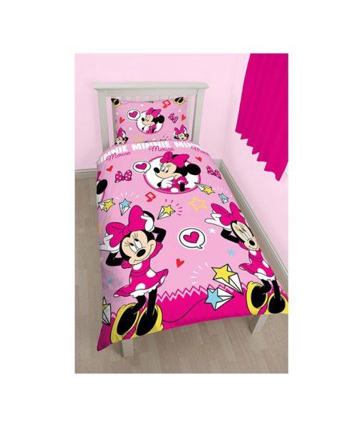 """Parure de lit réversible Minnie """"Style"""""""