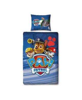 """Parure de lit Pat Patrouille """"Control"""" 140x200 + 60x70 cm"""