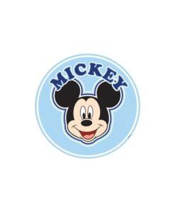 Sticker géant Mickey tête de lit 70x100 cm