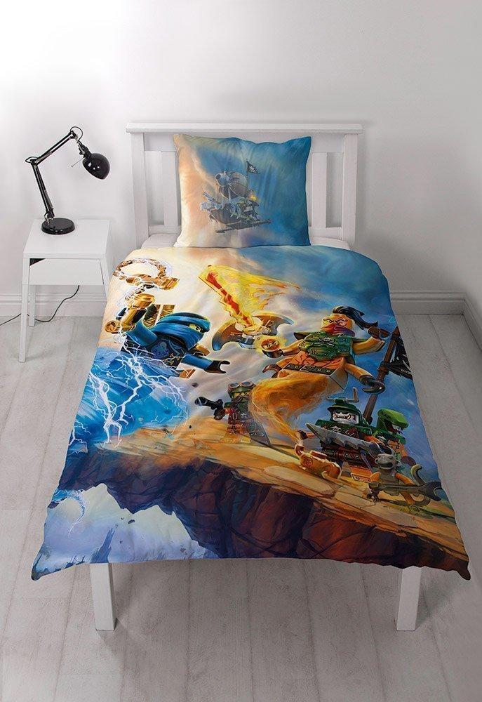 housse de couette lego ninjago pour lit enfant. Black Bedroom Furniture Sets. Home Design Ideas