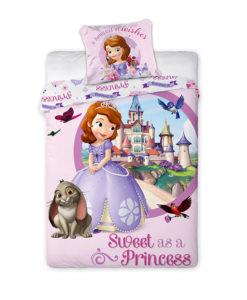 princesse sofia housse de couette parure de lit fresque d co chambre fille enfant. Black Bedroom Furniture Sets. Home Design Ideas