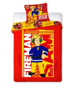 Sam le pompier housse de couette parure de lit draps - Housse de couette sam le pompier ...