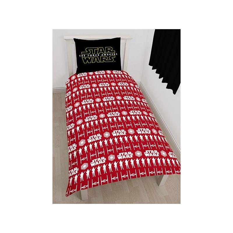 parure de lit star wars le r veil de la force pour enfant. Black Bedroom Furniture Sets. Home Design Ideas