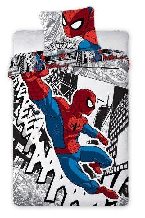 Spiderman housse de couette pour gar on gratte ciels for Housse couette spiderman