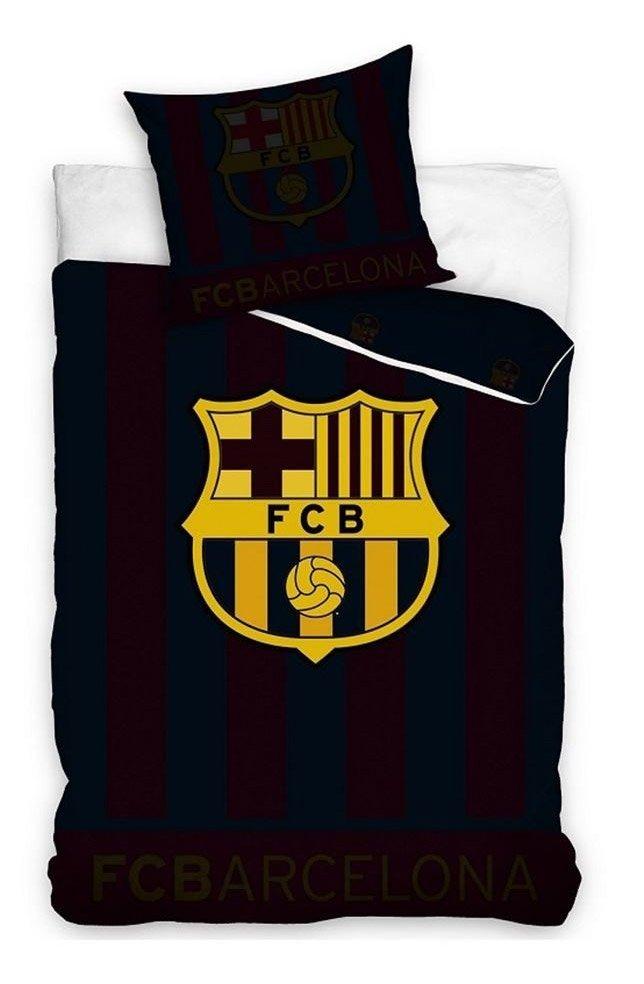Housse de couette fc barcelone brille dans l 39 obscurit - Parure de lit fc barcelone ...