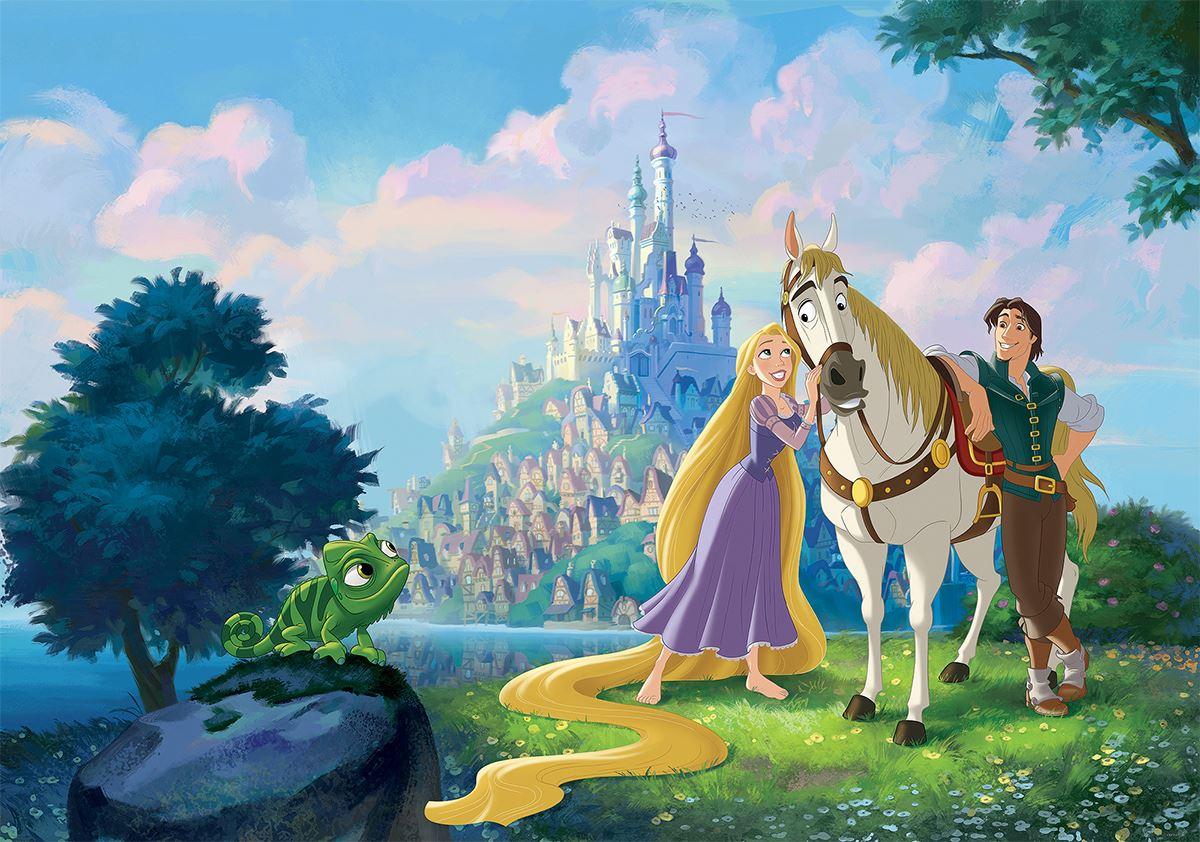 Papier Peint Disney Pour Enfant Raiponce