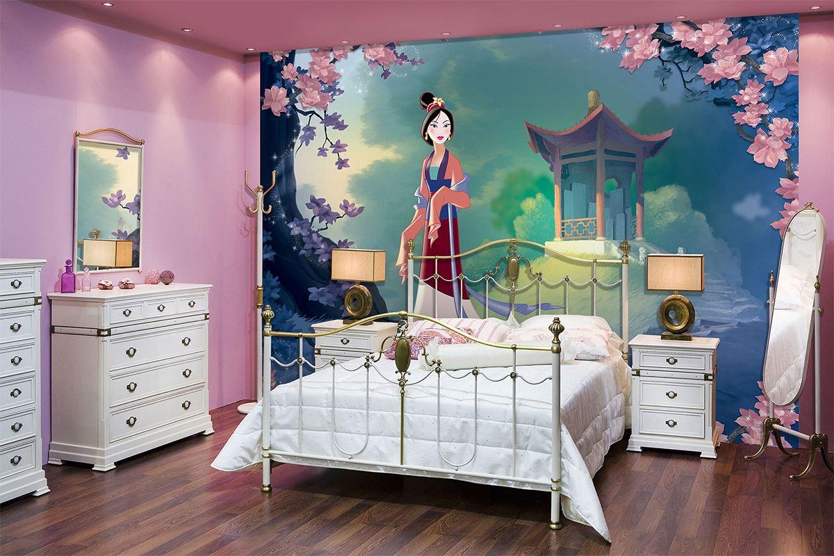 Papier Peint Classique Disney Mulan Pour Chambre D'Enfant