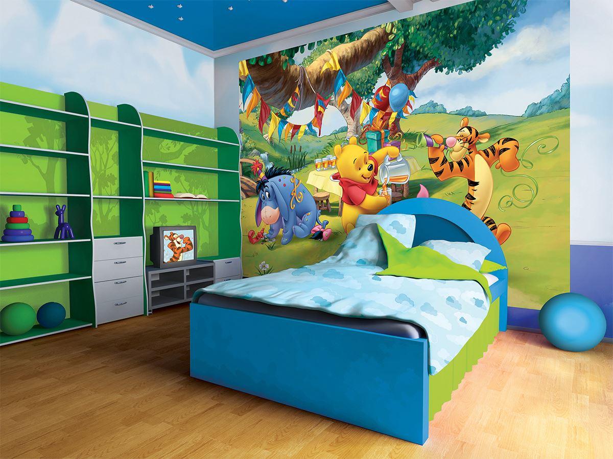 Papier Peint Géant Disney Winnie L'Ourson Et Ses Amis