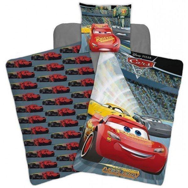 Parure de lit disney cars pour 1 personne 140x200 cm 100 microfibre - Housse de couette cars 140x200 ...