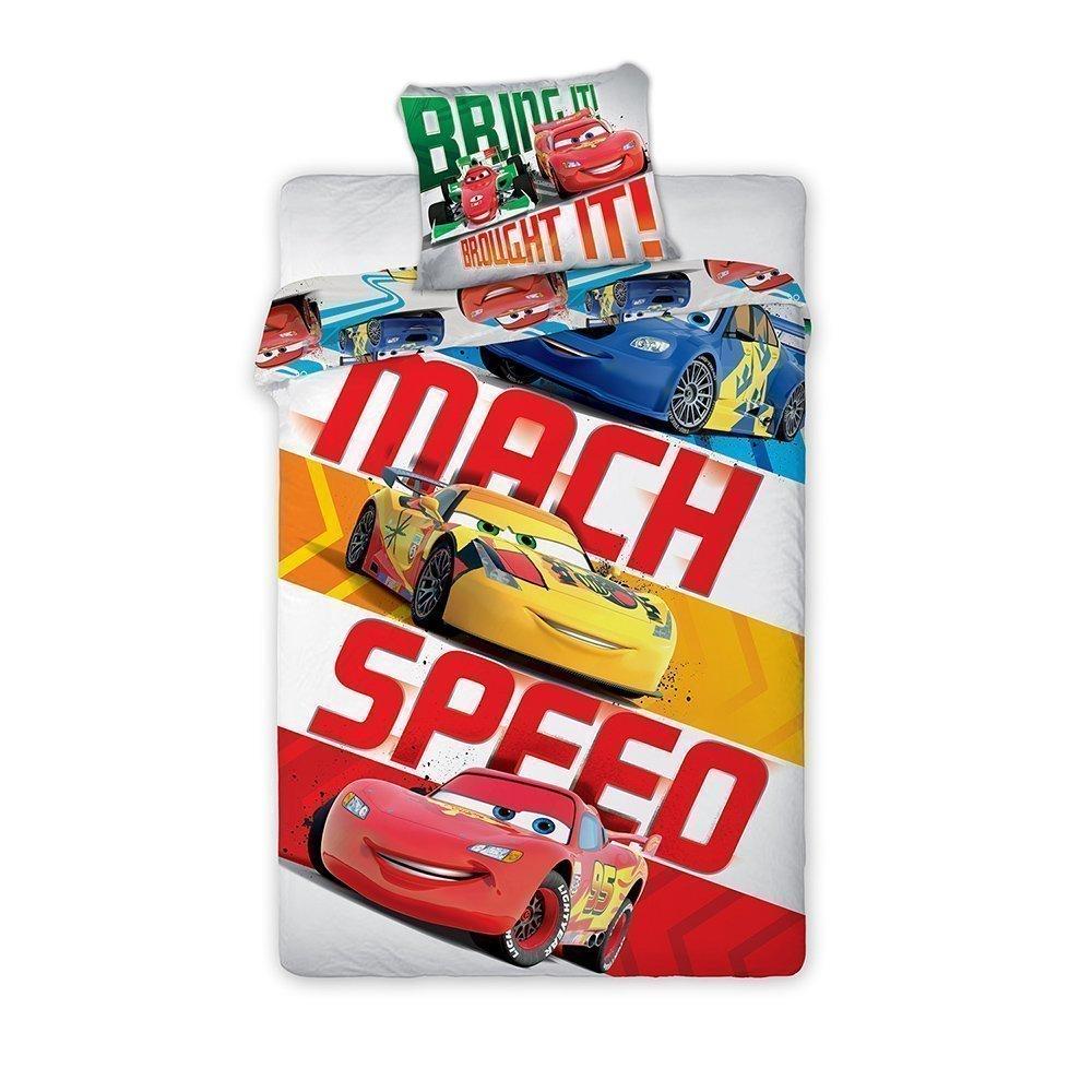 Housse de couette disney cars mach speed pour chambre d 39 enfant - Housse de couette cars auchan ...