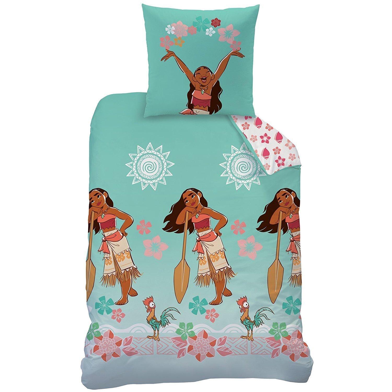 parure de lit vaiana pour enfant housse de couette taie 100 coton. Black Bedroom Furniture Sets. Home Design Ideas