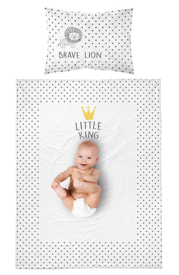 Parure de lit Lion pour Bébé