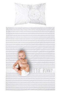 Parure de lit Bébé Réversible - Motif Lapin