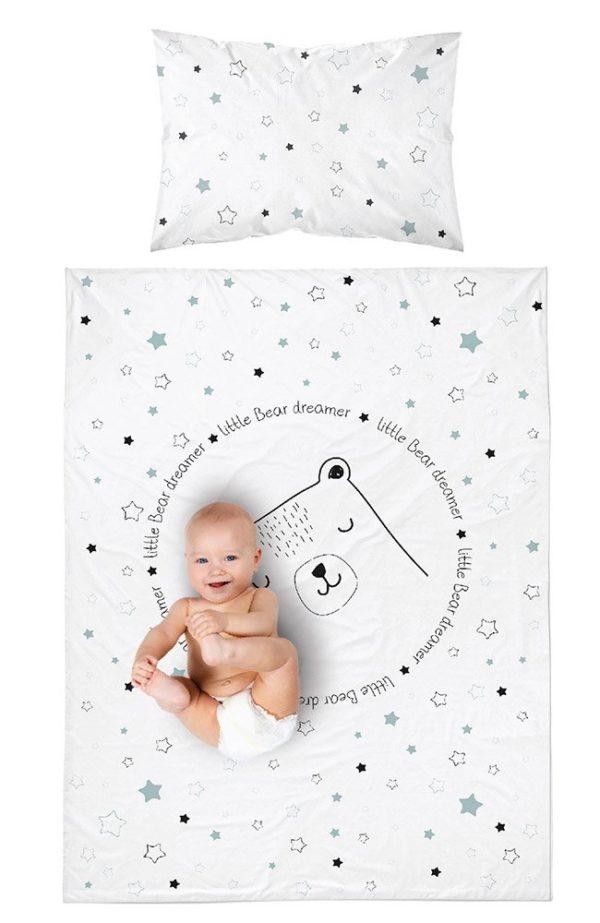 Parure de lit Réversible Ours pour Bébé