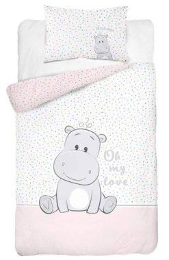 Parure de lit Hippopotame pour enfant