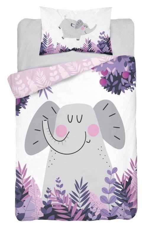 Parure de lit Bébé motif Éléphant