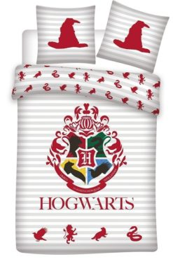 Parure de lit Harry Potter Hogwarts