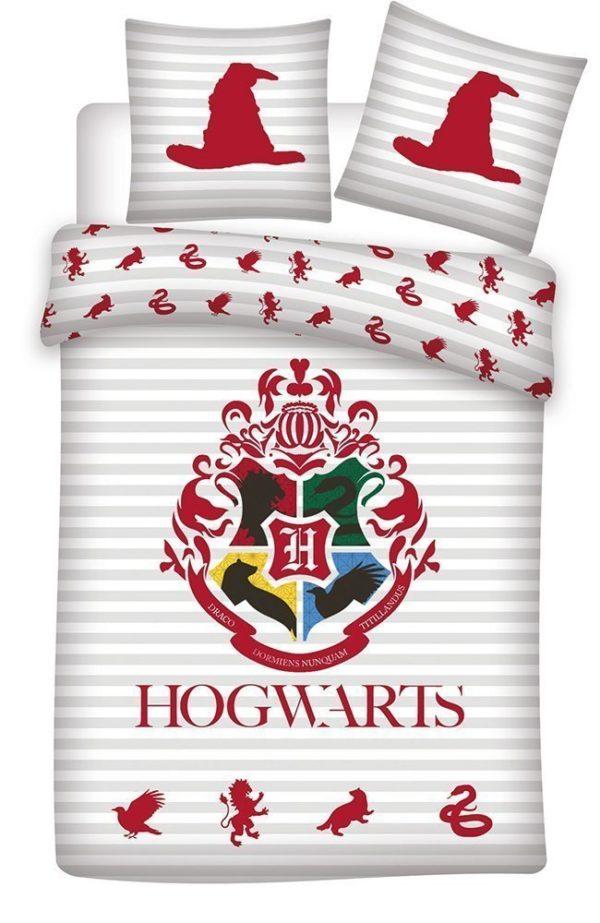 Parure de lit Harry Potter Hogwarts