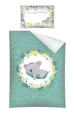 Parure de lit Bébé Koala Vert