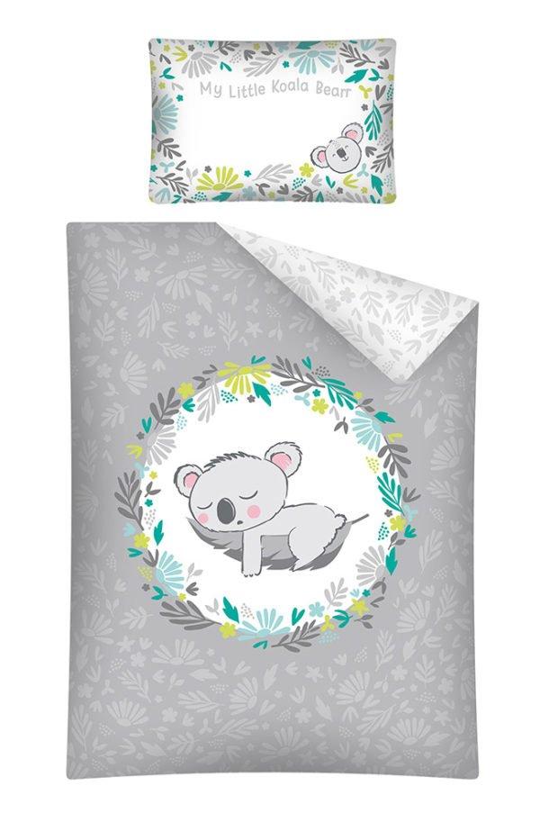Parure de lit Bébé Koala Gris