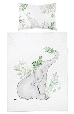 Housse de Couette bébé Motif éléphant