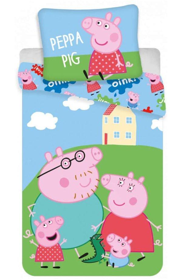 Housse de Couette Peppa Pig Family