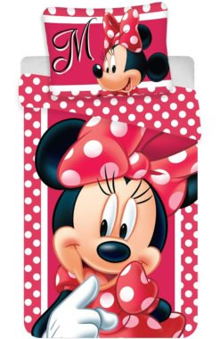Parure de lit Minnie Dots Rouge