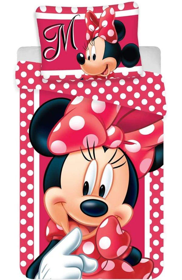 Parure de lit Minnie Dots Rouge