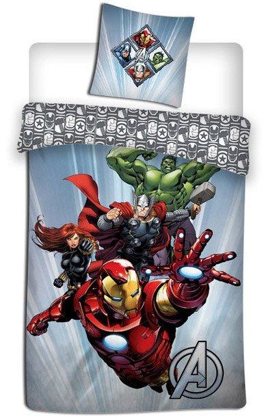 Housse de Couette Avengers pour 1 Personne