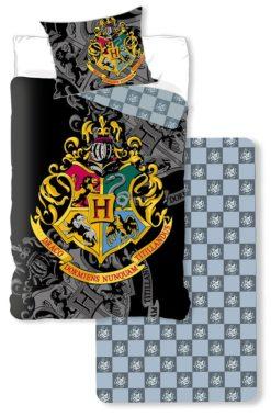 Parure de lit 3 Pièces Harry Potter avec Drap-housse