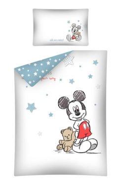 Parure de lit Mickey Bébé 100x135cm