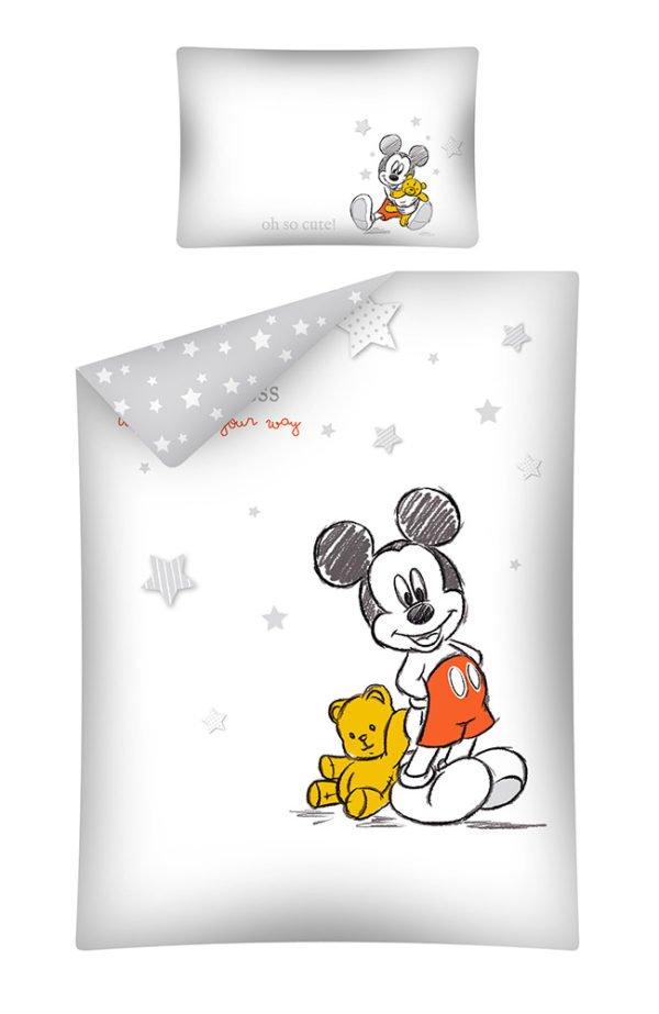 Housse de Couette Mickey pour lit Bébé