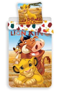 Housse de Couette Le Roi Lion pour Lit 1 Personne