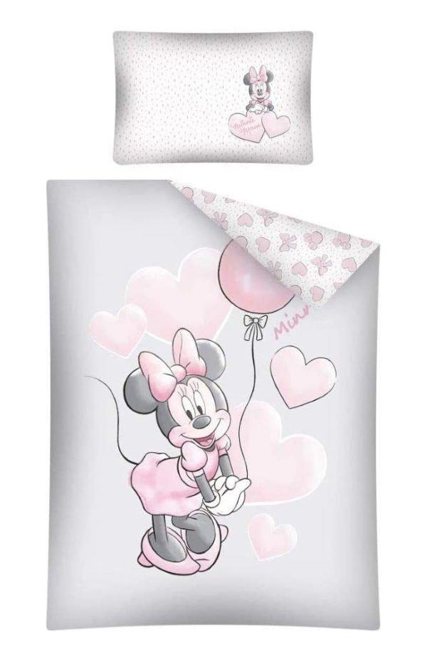 Parure de lit Minnie Grise